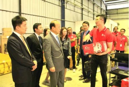 驻印尼大使点赞京东印尼仓储,印尼电商迎来新发展