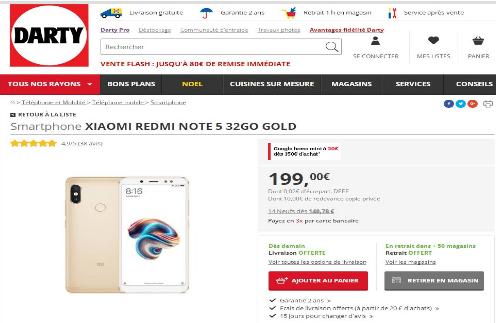 小米手机在Darty平台销售