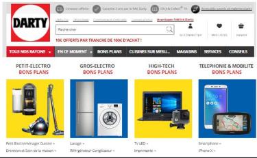 法国电器darty电商平台