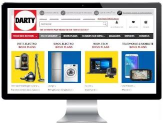法国电子电器电商平台darty