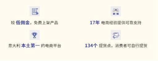这里的中国卖家几乎为0,进军意大利的首选平台!