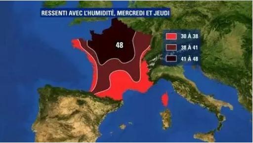 法国什么时候最热